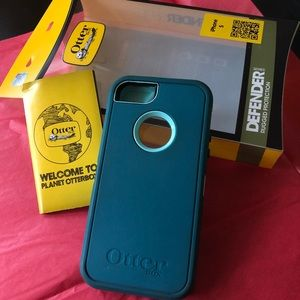 🔵5/$25 Otter Box Defender Phone Case iPhone 5